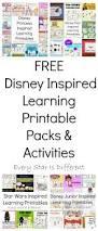 free disney inspired learning printable packs u0026 activities