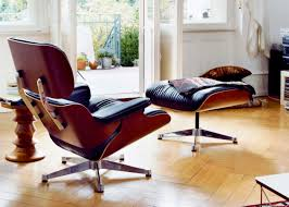 Charles Eames Ottoman Chair Design Ideas Furniture Vitra Eames Lounge Chair Ottoman New Black Leather