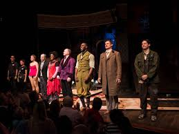 Curtain Call Theatre Jordan Fisher Visits The Play That Goes Wrong U0027s New Cast For Their