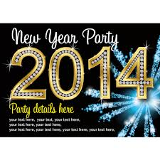 fabulous personalised new years eve 2014 party invites buzz invites