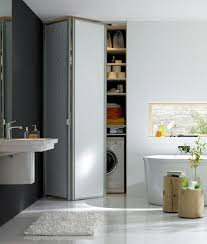 falttür küche inspiration falttür versteckt waschmaschine co bild 4