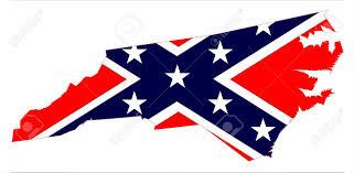 Confederate Flag Alabama Outline Map Of The State Of North Carolina With Confederate Flag