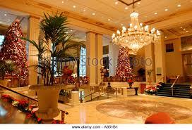 Waldorf Christmas Decorations Hotel New York City Christmas Decorations Stock Photos U0026 Hotel New