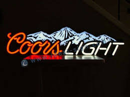 coors light bar sign custom coors light neon bar signs wholesale personalized beer signs