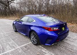lexus rc 350 awd used a week with the lexus rc 350 f sport the thrill of driving