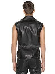 biker vest belstaff