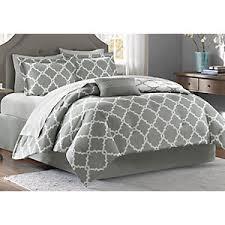 Gray Bed Set Merritt Gray 9 Pc King Comforter Set King Linens Gray