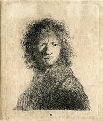 self portrait tronie etching early 1630 u0027s rembrandt