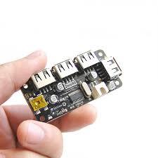 Usb Hub Zero4u 4 Port Usb Hub For Raspberry Pi Zero V1 3 Only Robotshop