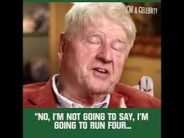 Celeb Meme - i m a celebrity get me out of here 2017 stanley johnson youtube