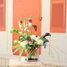 calla bouquet modern rectangle calla bouquet in greenville sc dahlia a florist