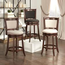 furniture leather bar stools with nailhead trim backless target