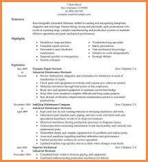 Sample Diesel Mechanic Resume by Diesel Mechanic Resume Resume Name