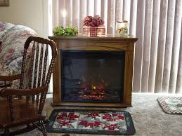 Oak Electric Fireplace Rolling Electric Fireplace Gallery