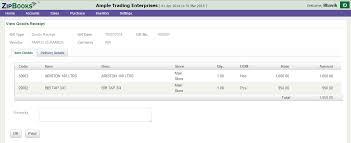 inventory management software zipbooks
