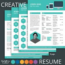 Pages Resume Templates 15 Creative Resume Design Templates Images Free Creative Resume
