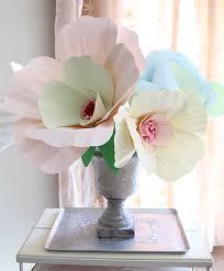 giant paper flower bouquet centerpiece creative jewish mom