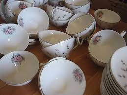 harmony house china rosebud 108 pc vtg used harmony house china rosebud made in japan