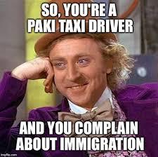 Taxi Driver Meme - creepy condescending wonka meme imgflip