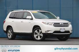 toyota highlander 2012 used used 2012 toyota highlander for sale pricing features edmunds