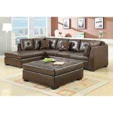 Tufted Sectional Sofa by Furniture Inviting Black Accent Leather Sectional Tufted Sofa
