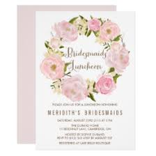 bridesmaid brunch invitations bridesmaid luncheon invitations announcements zazzle