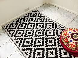 Indoor Outdoor Rug Runners Rug Black And White Indoor Outdoor Rug Jamiafurqan Interior