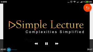 simple lecture new android apps on google play