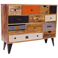 Multi Drawer Storage Cabinet Java This Rustic Multi Drawer Storage Cabinet Is Both Striking