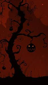 halloween wallpaper android halloween tree wallpaper sc smartphone