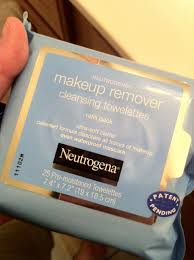 neutrogena makeup remover cleansing towelettes a healthyvalue now