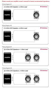 dvc 4 ohm wiring diagram 2 ohm dvc wiring diagram bridge 2