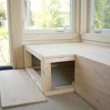 make it custom diy window bench with storage window benches