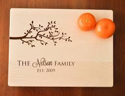 wedding gift cutting board cutting board personalized custom cutting board engraved