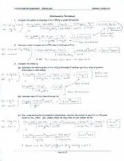 writing and balancing chemical equations worksheet answer key