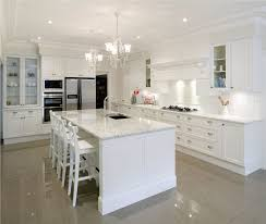 kitchen beautiful white brown wood stainless luxury design small