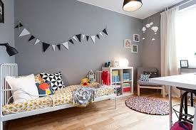 Cool Kids Bedrooms That Charm With Gorgeous Gray - Kids room style