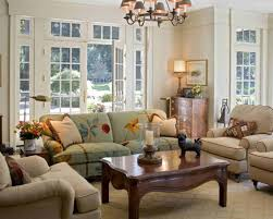 living room gray sofa brown ceiling fans black console table