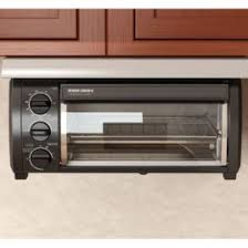 Toaster Oven Spacemaker Black U0026 Decker Spacemaker Toaster Oven Black And Stainless Under