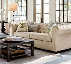 pottery barn sofa bed living room chesterfield sofabed pottery barn sofa bright blue