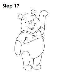 draw winnie pooh