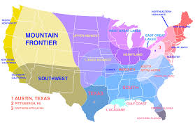 Map Of Pittsburgh Pennsylvania by Colour Based Map Of Us Regions Including Sub Regions 1533x961