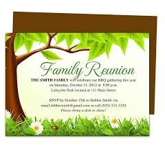 family reunion invitations ideas on on time for a family gathering