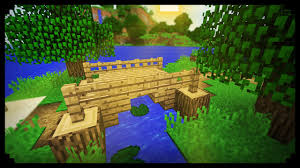 How To Make A Small by Minecraft How To Make A Small Wood Bridge Youtube