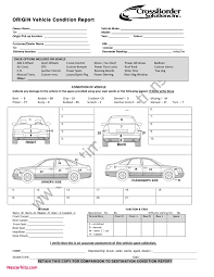 vehicle inspection report template vehicle inspection report template new vehicle condition report