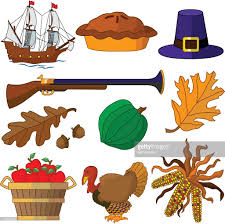 traditional vector thanksgiving icons in color vector getty