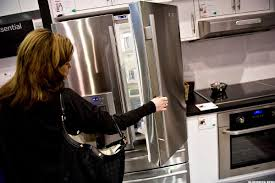 Kitchen Appliance Stores - americans are going absolutely bananas for refrigerators dryers