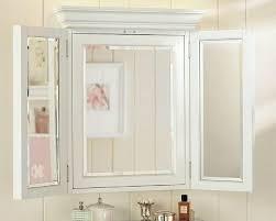 White Recessed Medicine Cabinet With Mirror Bathroom Cabinets Bamboo Bathroom Medicine Cabinet With Mirror
