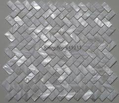 aliexpress com buy white shell mosaic tile mother of pearl