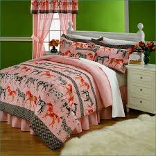 Girls Horse Comforter Horse Bed In A Bag Twin Home Design U0026 Remodeling Ideas
